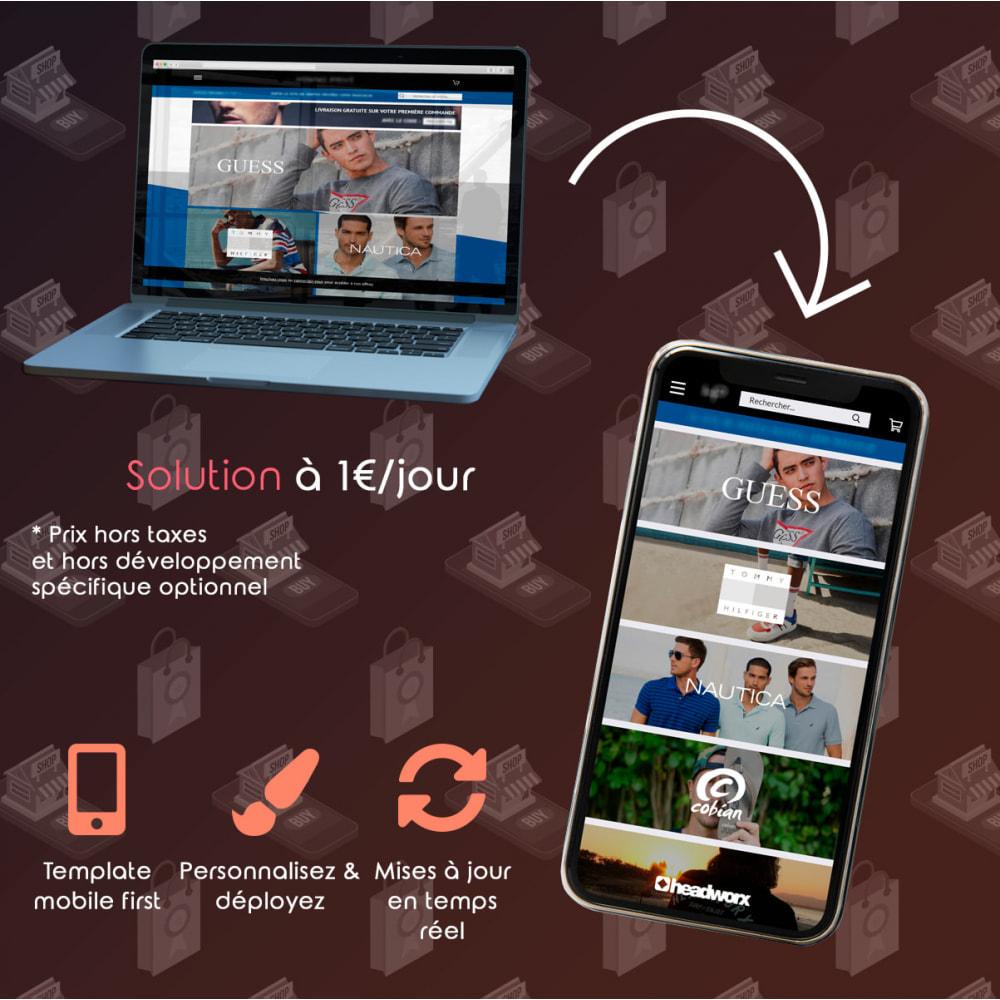 module - Mobile - PrestApp - Thème Site Mobile & Notifications Push - 2