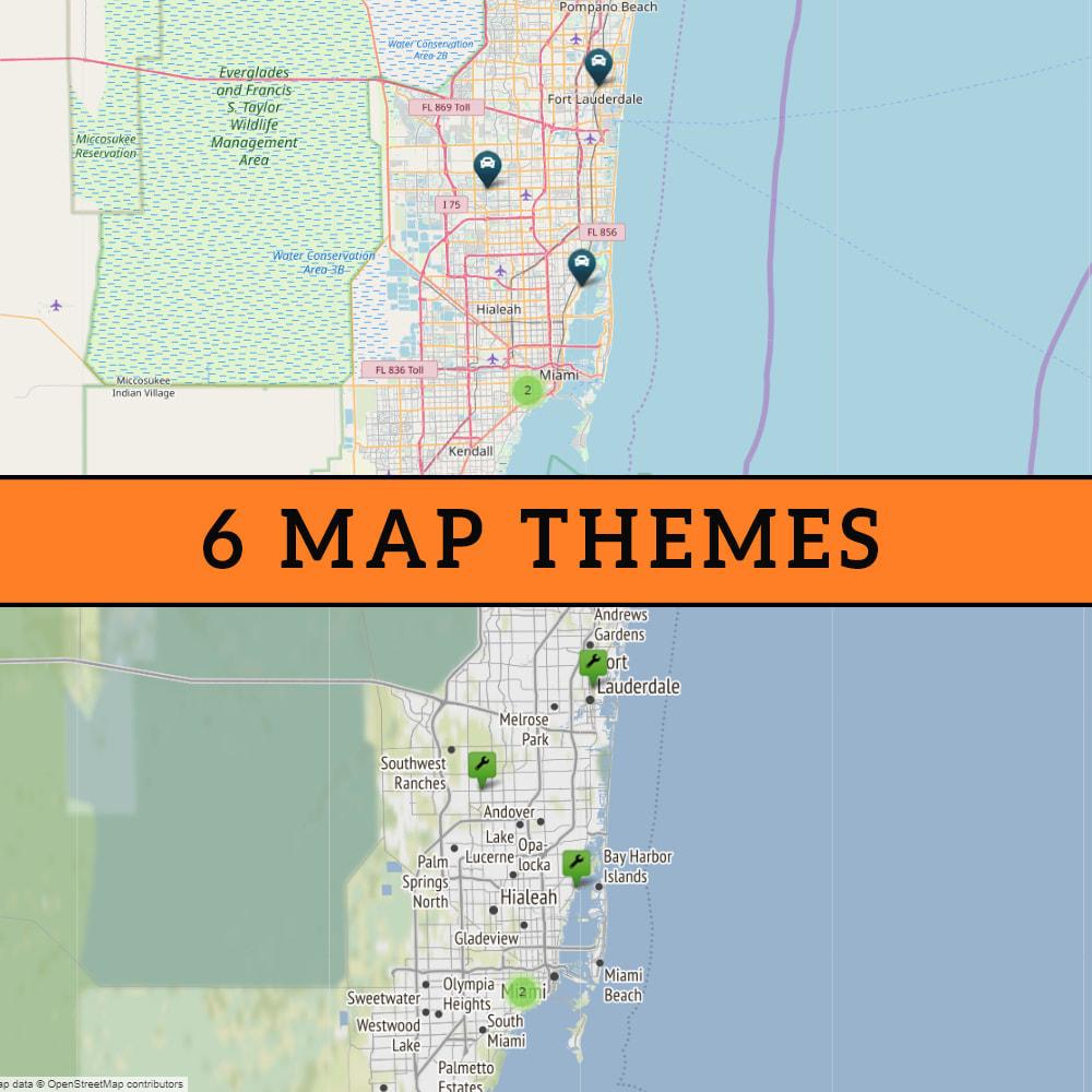 module - Международный рынок и геолокация - Premium Store Locator (FREE - No Google Maps) - 2
