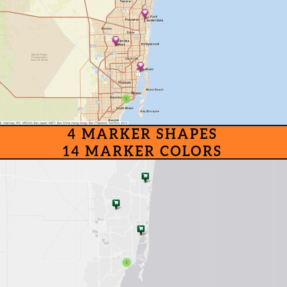module - Международный рынок и геолокация - Premium Store Locator (FREE - No Google Maps) - 4
