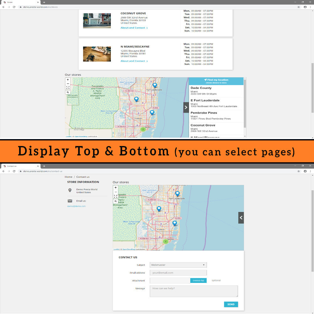 module - Международный рынок и геолокация - Premium Store Locator (FREE - No Google Maps) - 9