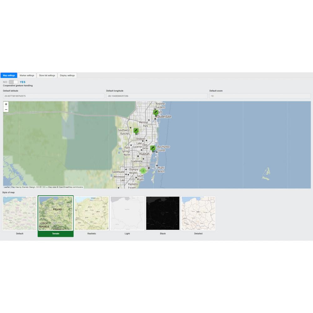 module - Международный рынок и геолокация - Premium Store Locator (FREE - No Google Maps) - 10