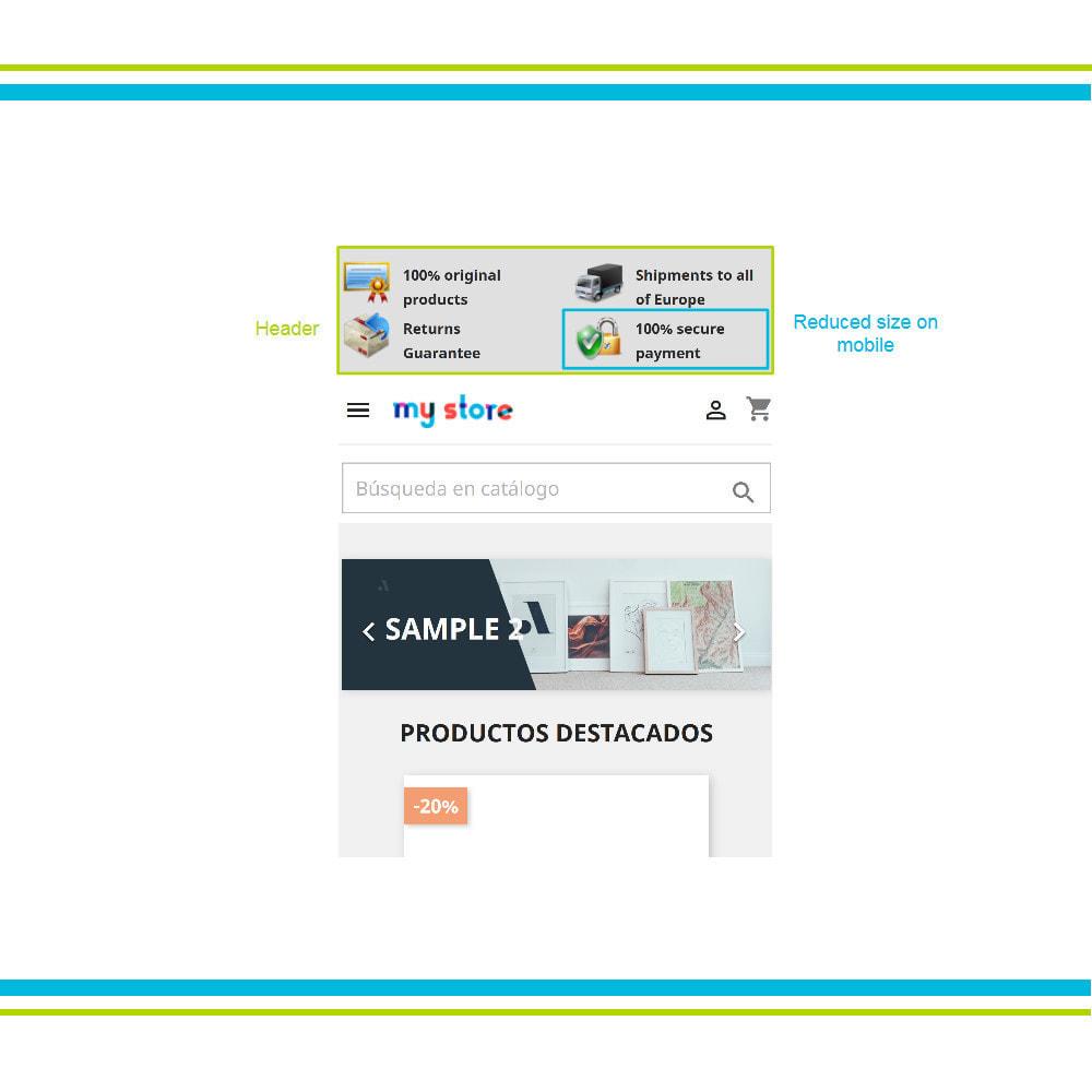 module - Personalizzazione pagine - Aggiungi elementi di fiducia multipli animati - Lottie - 17