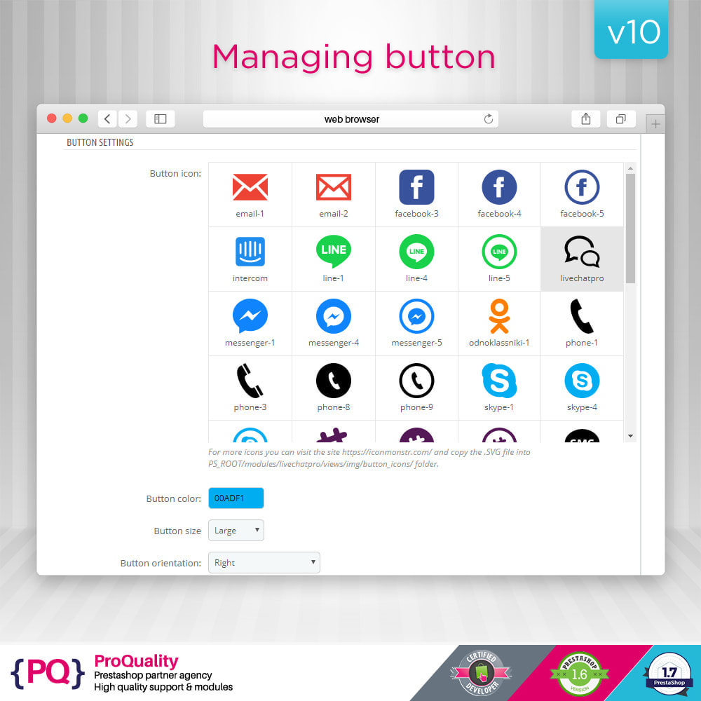 module - Support & Online-Chat - Live Chat Pro (All in One Messaging) - 7