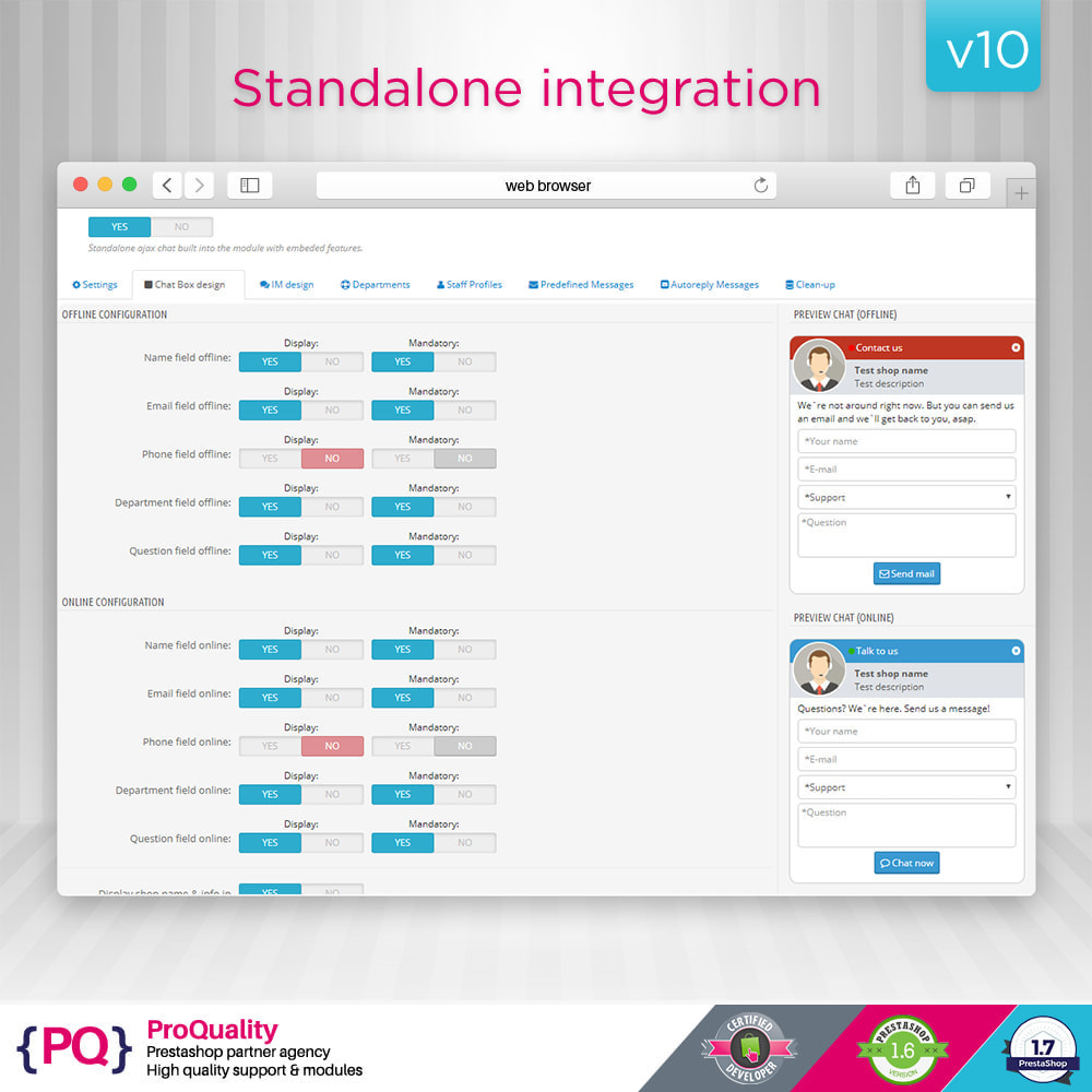 module - Support & Online-Chat - Live Chat Pro (All in One Messaging) - 9