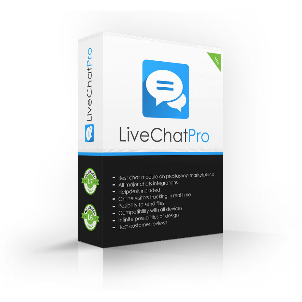 module - Supporto & Chat online - Live Chat Pro (All in One Messaging) - 1