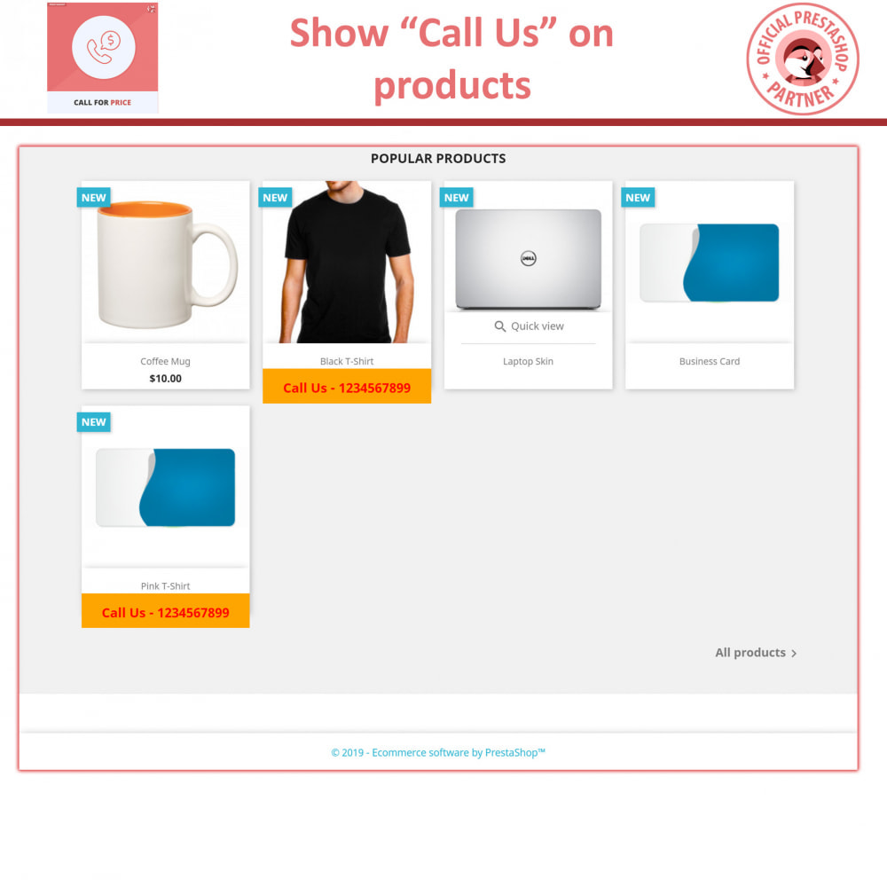 module - Price Management - Call For Price - Hide Price & Add To Cart - 2