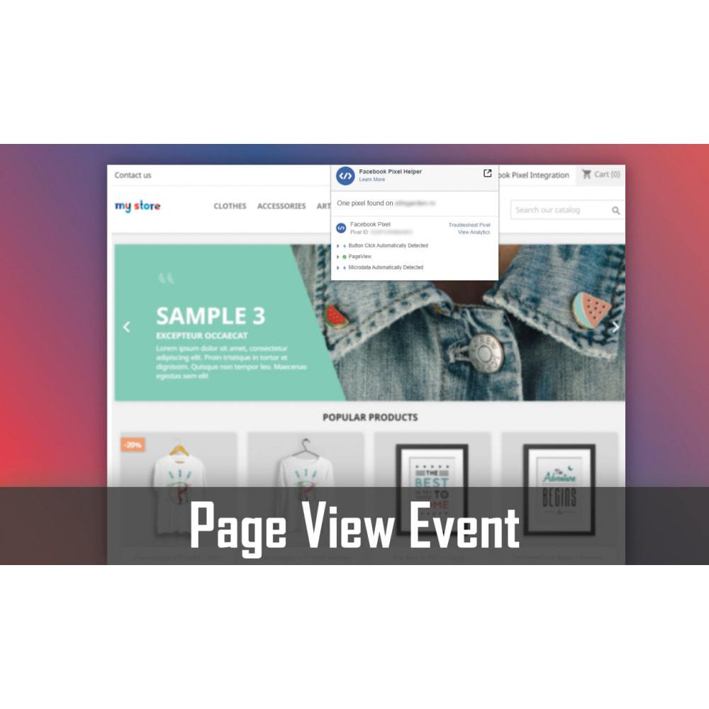 module - Advertising & Marketing - Pixel Integration - Conversions & Remarketing - 1