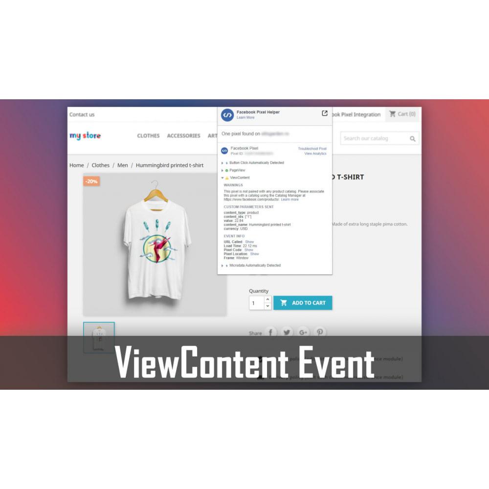 module - Advertising & Marketing - Pixel Integration - Conversions & Remarketing - 2