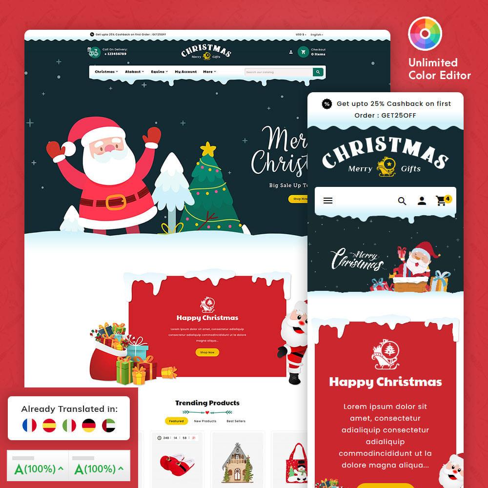 theme - Prezenty, Kwiaty & Uroczystości - Merry Christmas & Gifts - 1