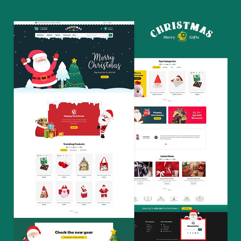theme - Prezenty, Kwiaty & Uroczystości - Merry Christmas & Gifts - 2