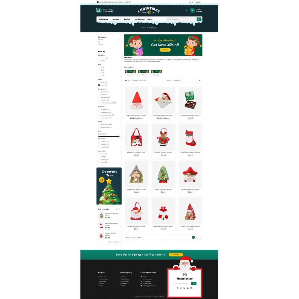 theme - Prezenty, Kwiaty & Uroczystości - Merry Christmas & Gifts - 3
