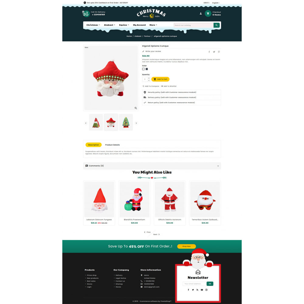 theme - Prezenty, Kwiaty & Uroczystości - Merry Christmas & Gifts - 5