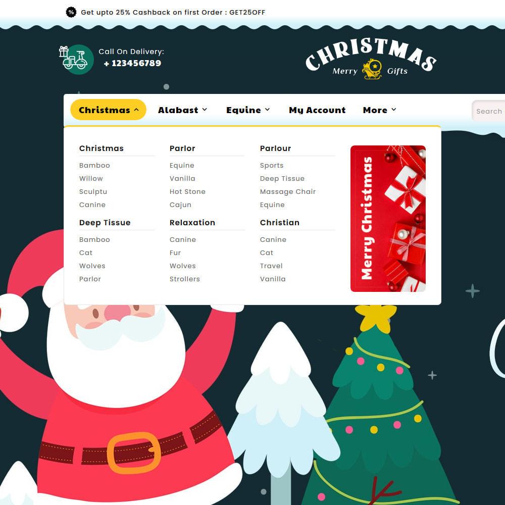 theme - Prezenty, Kwiaty & Uroczystości - Merry Christmas & Gifts - 9