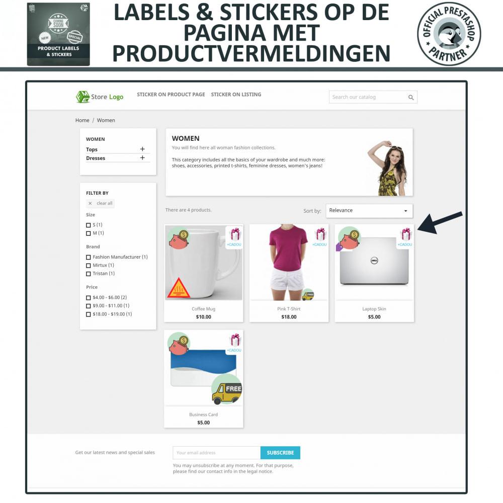 module - Badges & Logos - Product Labels en Stickers - 2