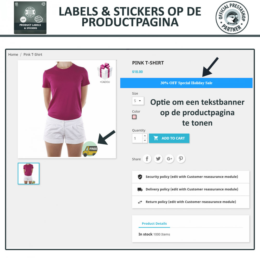 module - Badges & Logos - Product Labels en Stickers - 4
