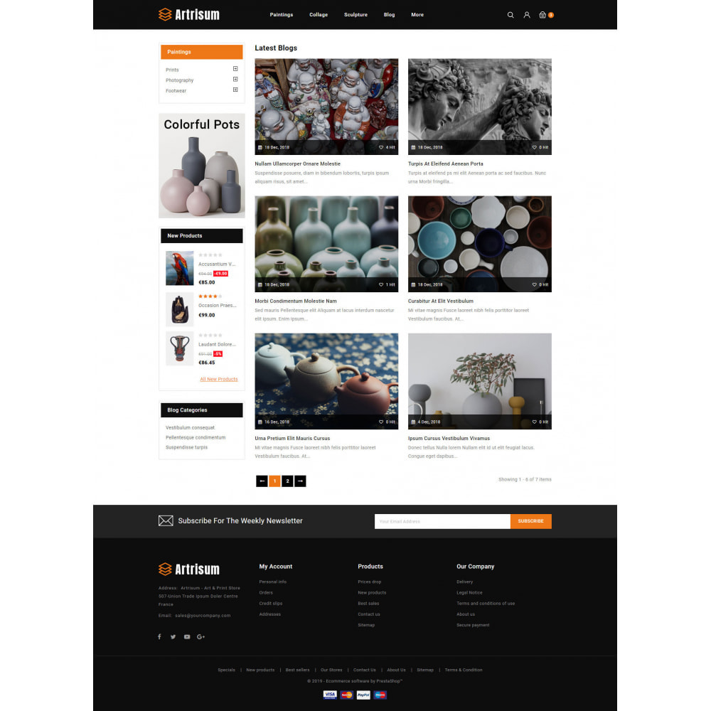 theme - Kunst & Kultur - Artrisum - Art & Print Store - 9