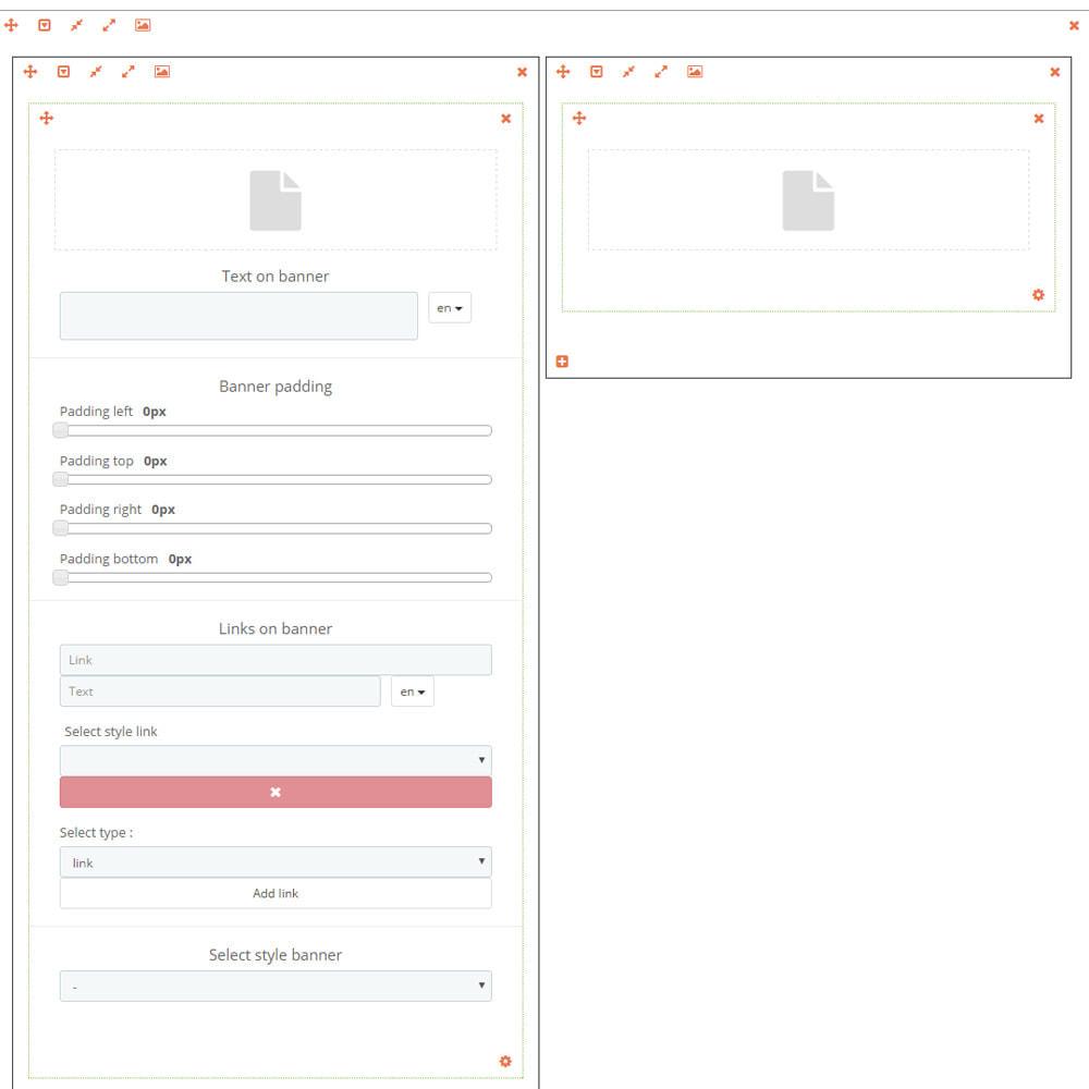 module - Bloki, Zakładki & Banery - Niestandardowy / personalizados baner - 8