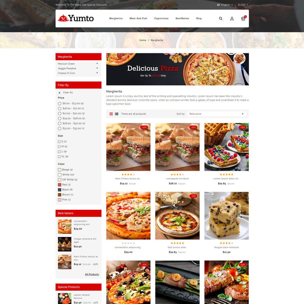 theme - Lebensmittel & Restaurants - Yumto - Food Store - 3
