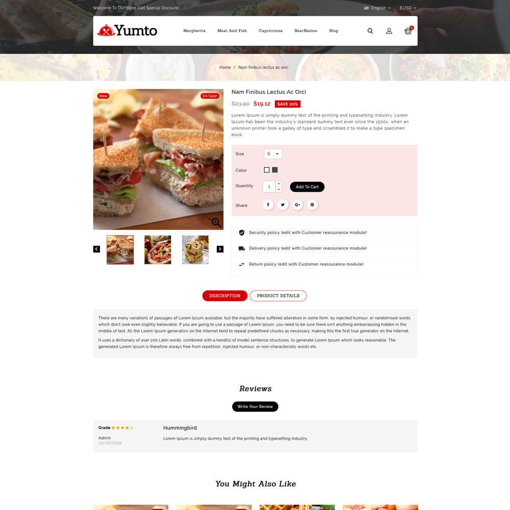 theme - Lebensmittel & Restaurants - Yumto - Food Store - 4