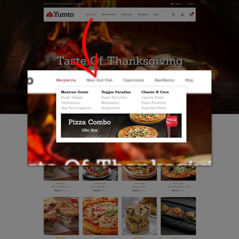theme - Lebensmittel & Restaurants - Yumto - Food Store - 7
