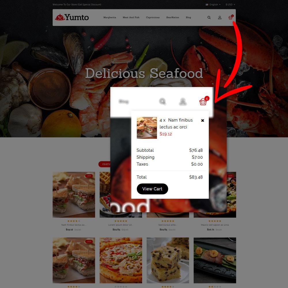 theme - Lebensmittel & Restaurants - Yumto - Food Store - 8