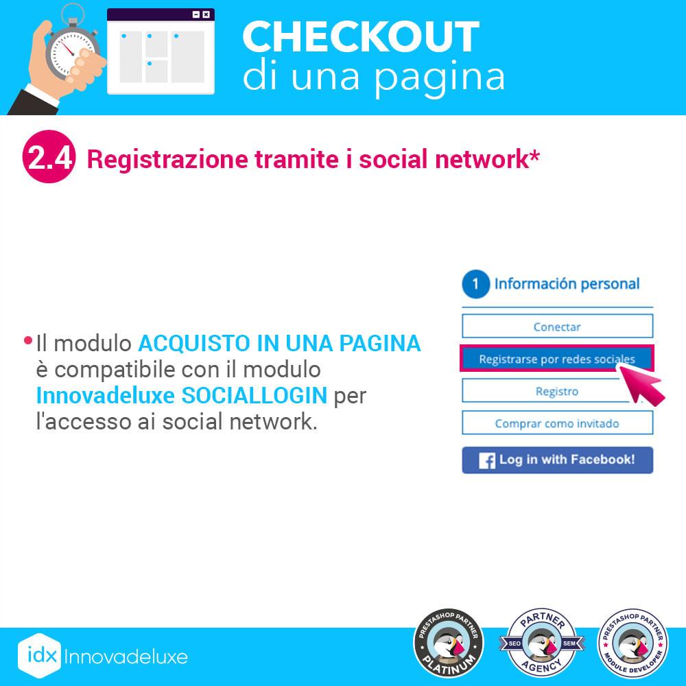 module - Express Checkout - Checkout in una pagina - Processo di acquisto veloce - 7