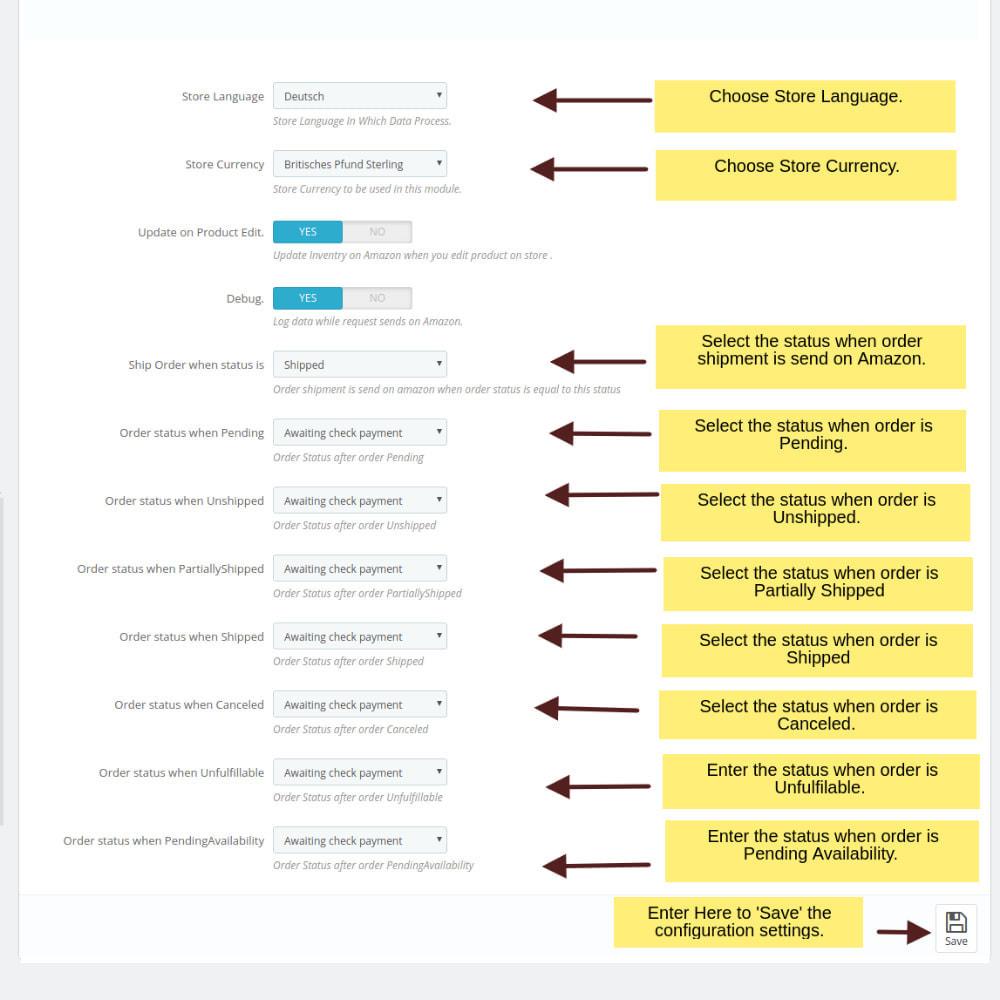 module - Marketplaces - Integración de amazon - 4