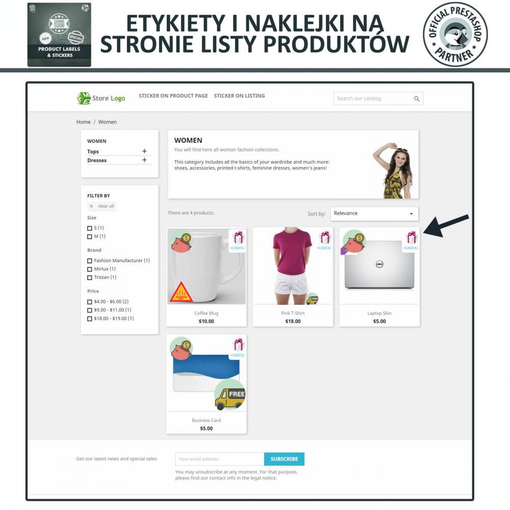 module - Odznaki & Logo - Etykiety i Naklejki na Produkty - 2