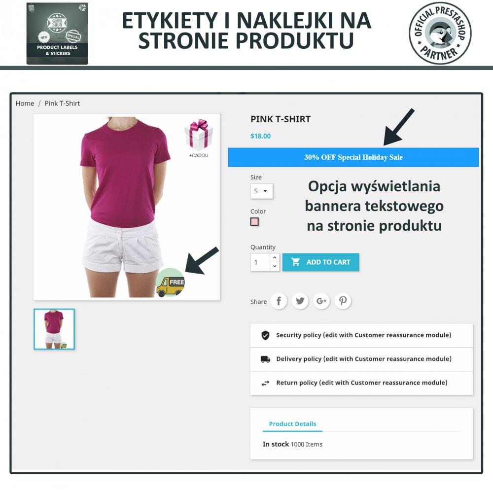 module - Odznaki & Logo - Etykiety i Naklejki na Produkty - 4