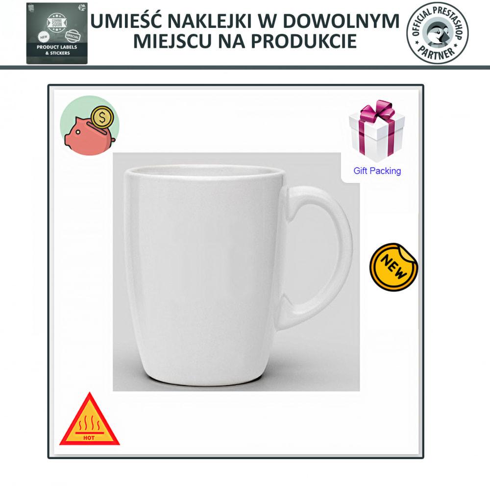 module - Odznaki & Logo - Etykiety i Naklejki na Produkty - 5