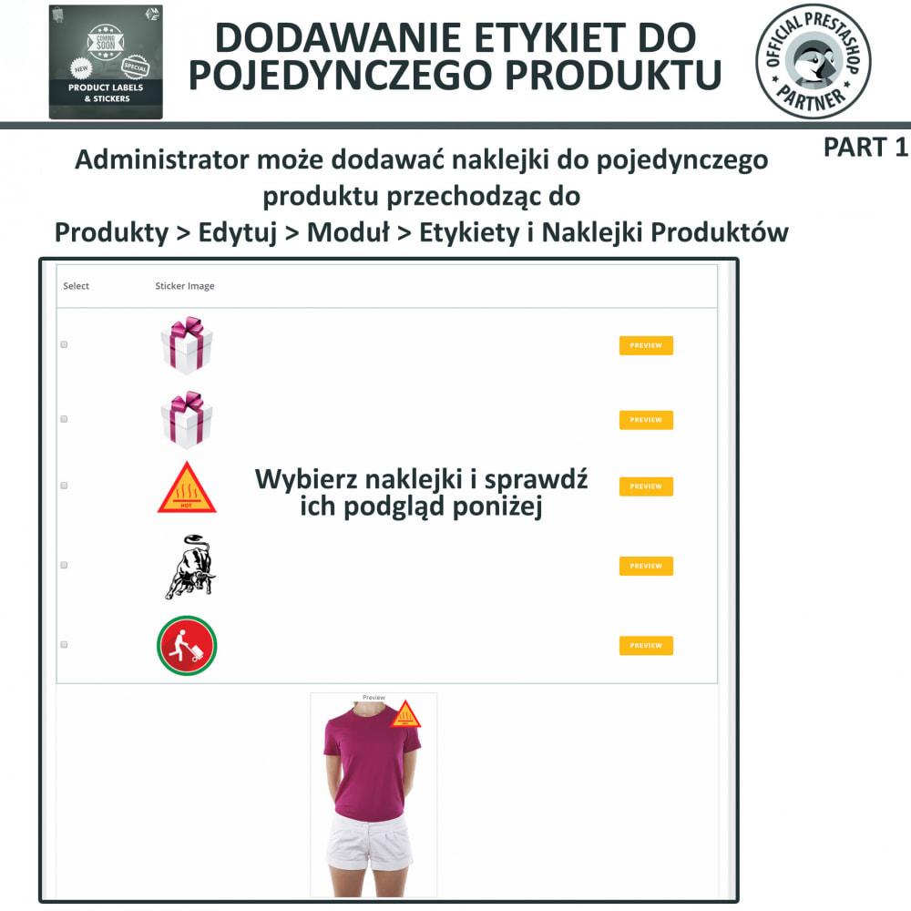 module - Odznaki & Logo - Etykiety i Naklejki na Produkty - 17