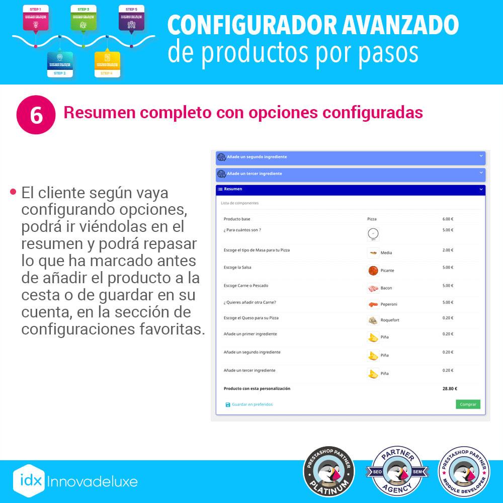 module - Combinaciones y Personalización de productos - Configurador avanzado de productos por pasos - 7