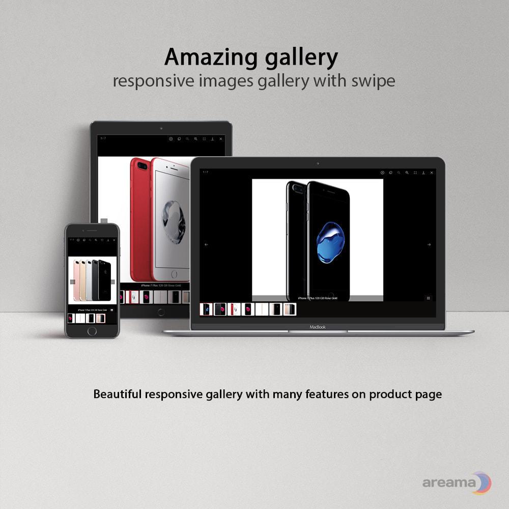 module - Gallerijen & Sliders - Amazing gallery: responsive images gallery + Zoom - 1
