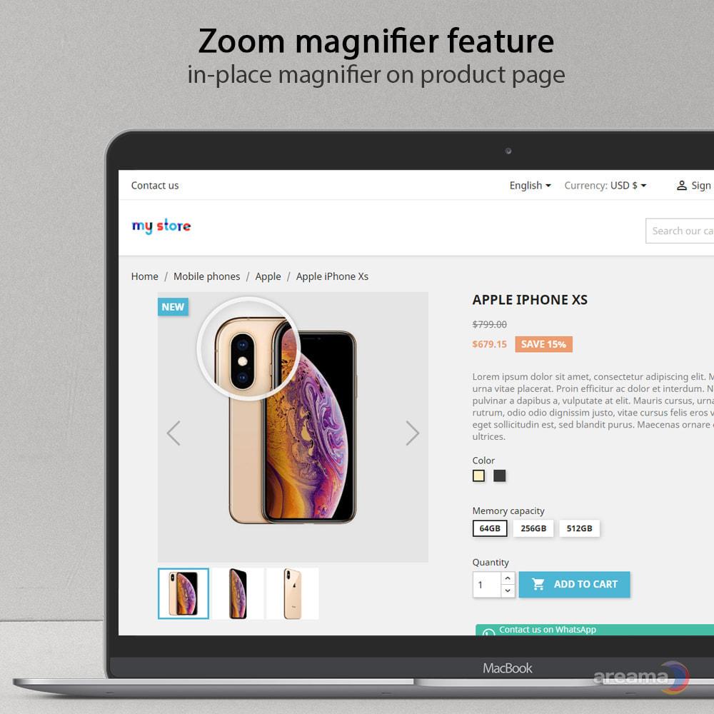 module - Gallerijen & Sliders - Amazing gallery: responsive images gallery + Zoom - 3