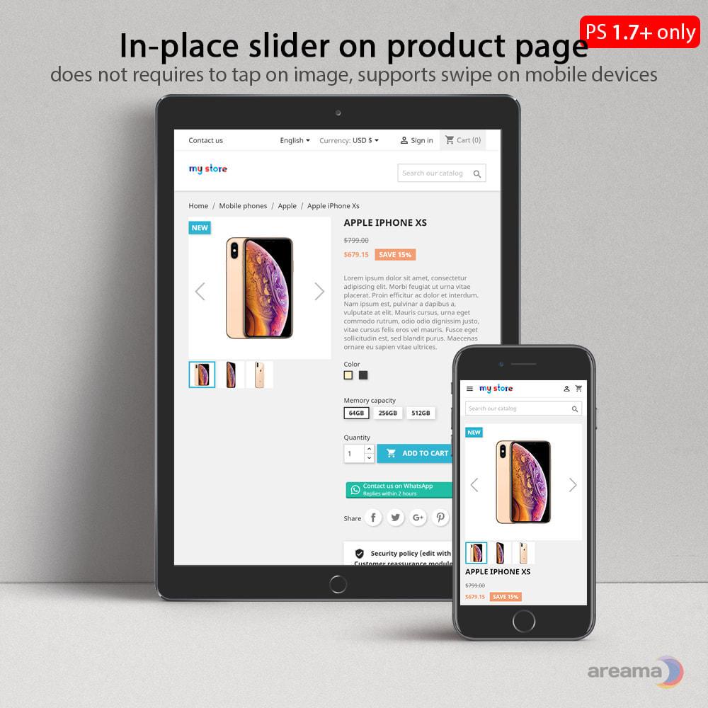 module - Gallerijen & Sliders - Amazing gallery: responsive images gallery + Zoom - 5