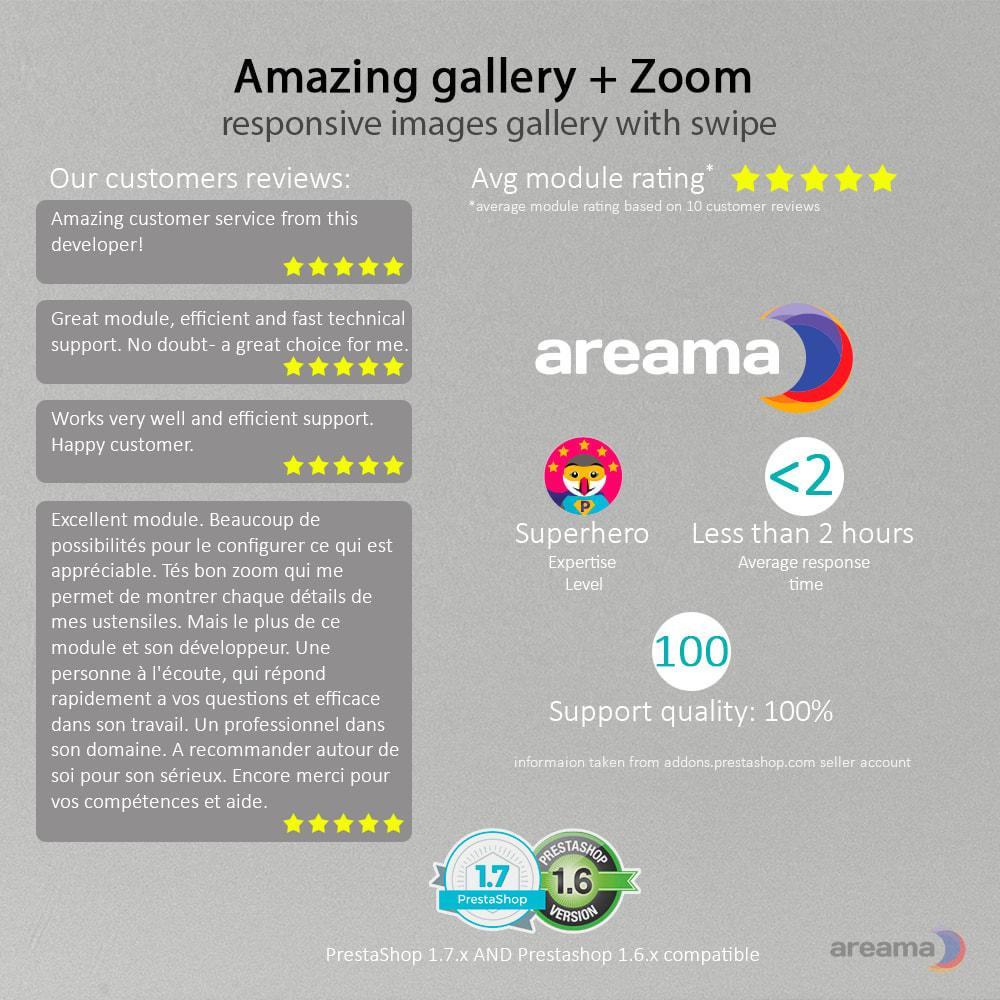 module - Gallerijen & Sliders - Amazing gallery: responsive images gallery + Zoom - 6