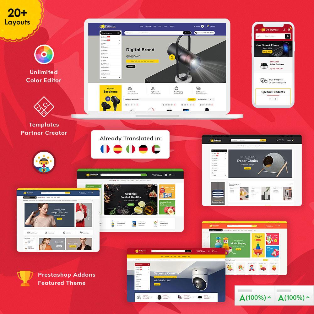 theme - Elektronika & High Tech - Go Express - Multi Purpose Mega Store - 1