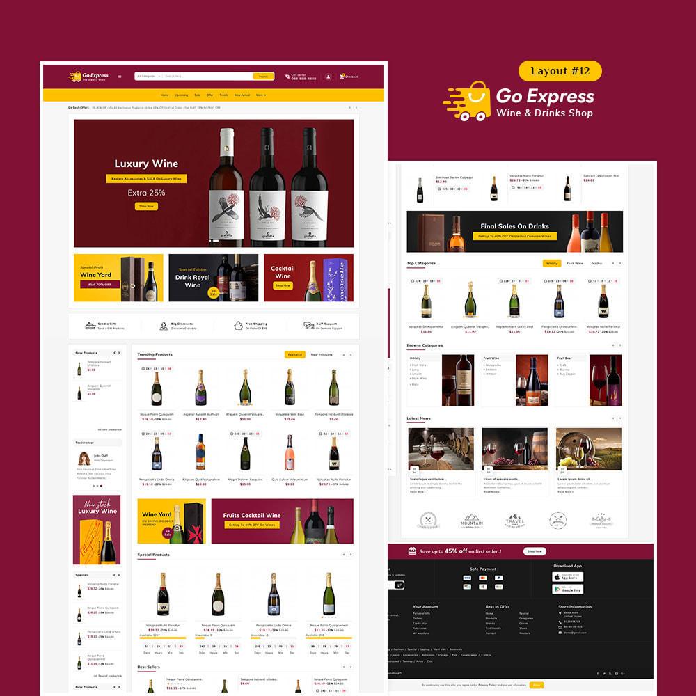 theme - Elektronika & High Tech - Go Express - Multi Purpose Mega Store - 13