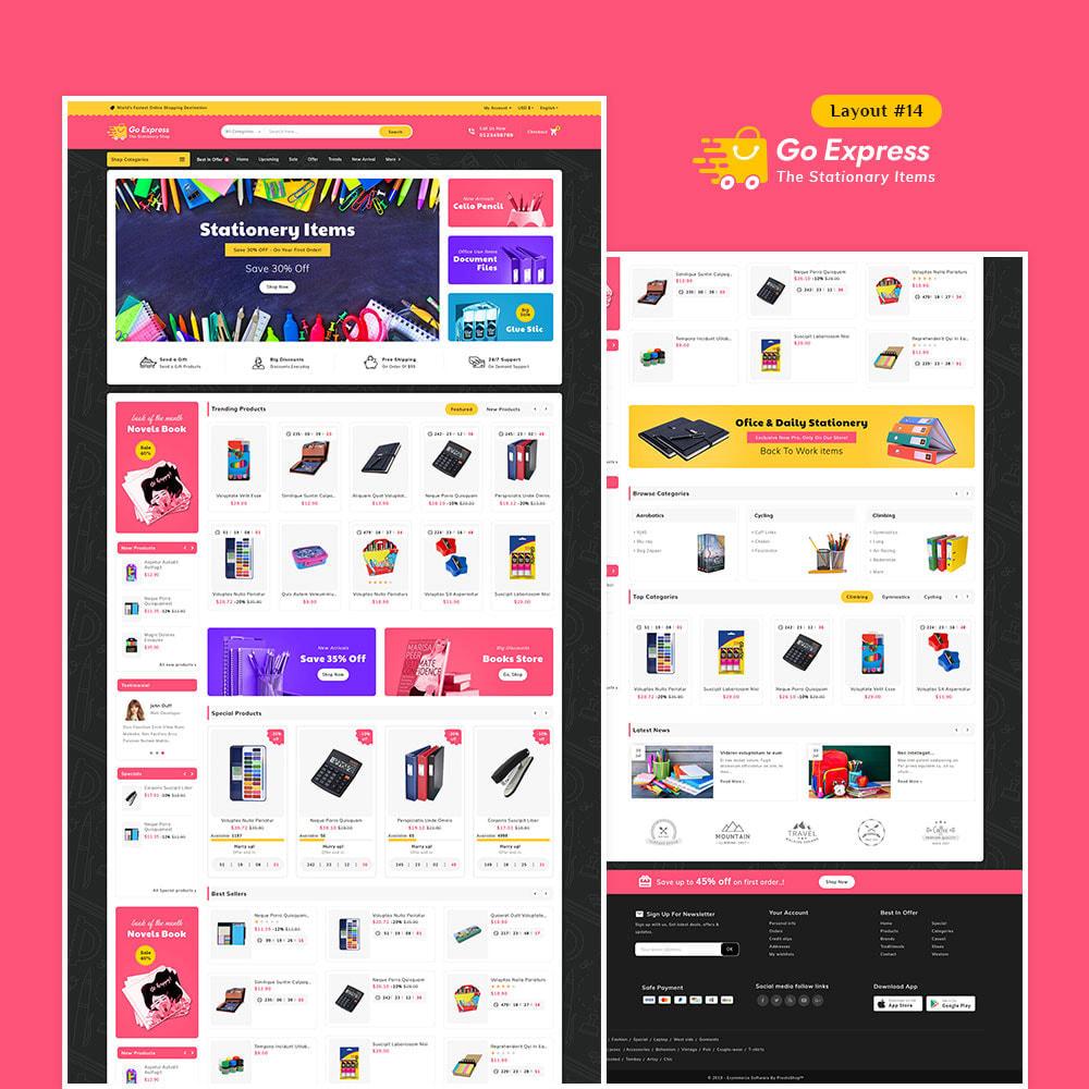 theme - Elektronika & High Tech - Go Express - Multi Purpose Mega Store - 15