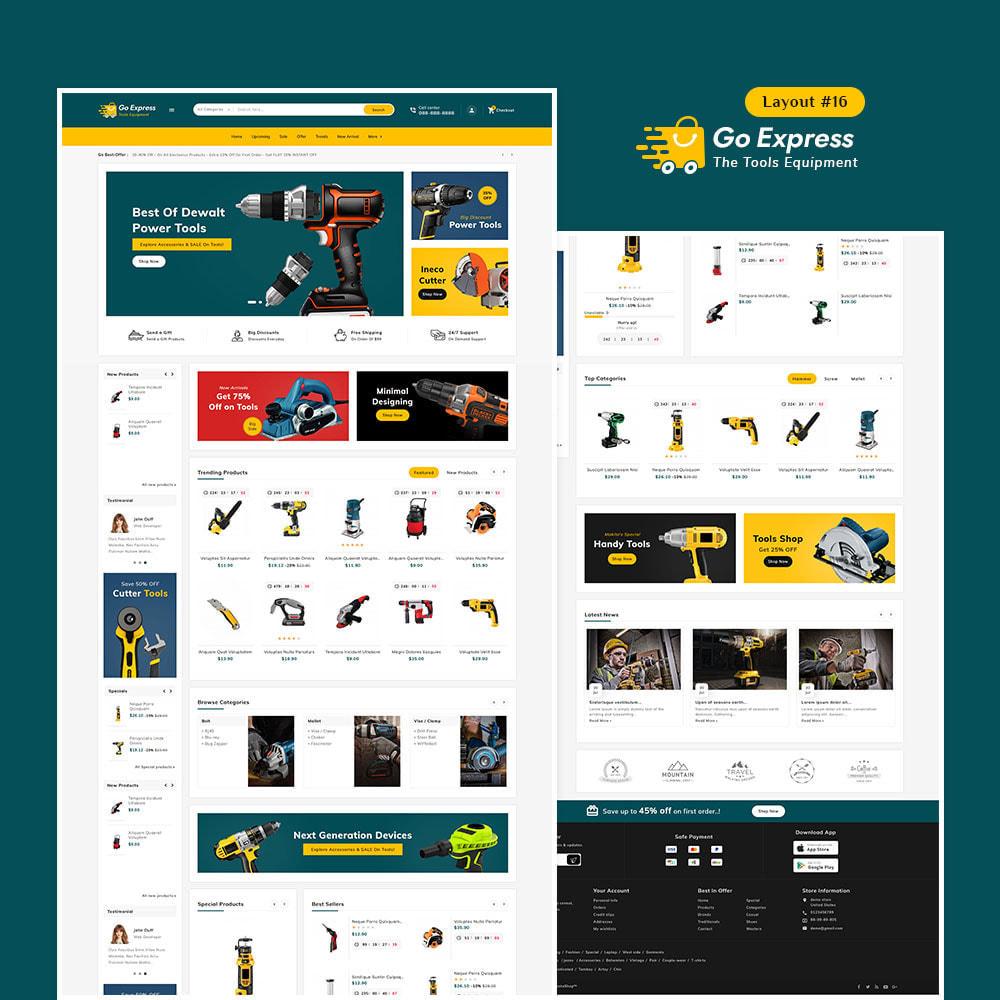 theme - Elektronika & High Tech - Go Express - Multi Purpose Mega Store - 17