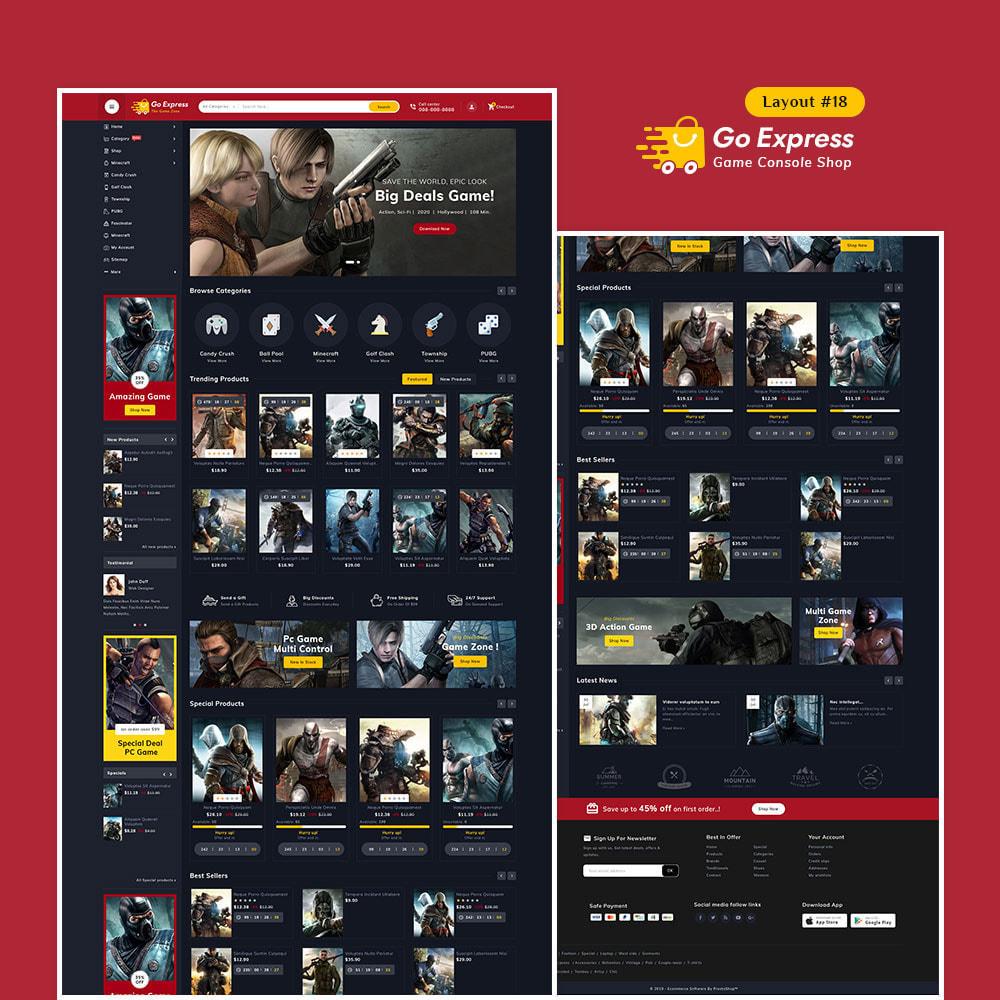 theme - Elektronika & High Tech - Go Express - Multi Purpose Mega Store - 19
