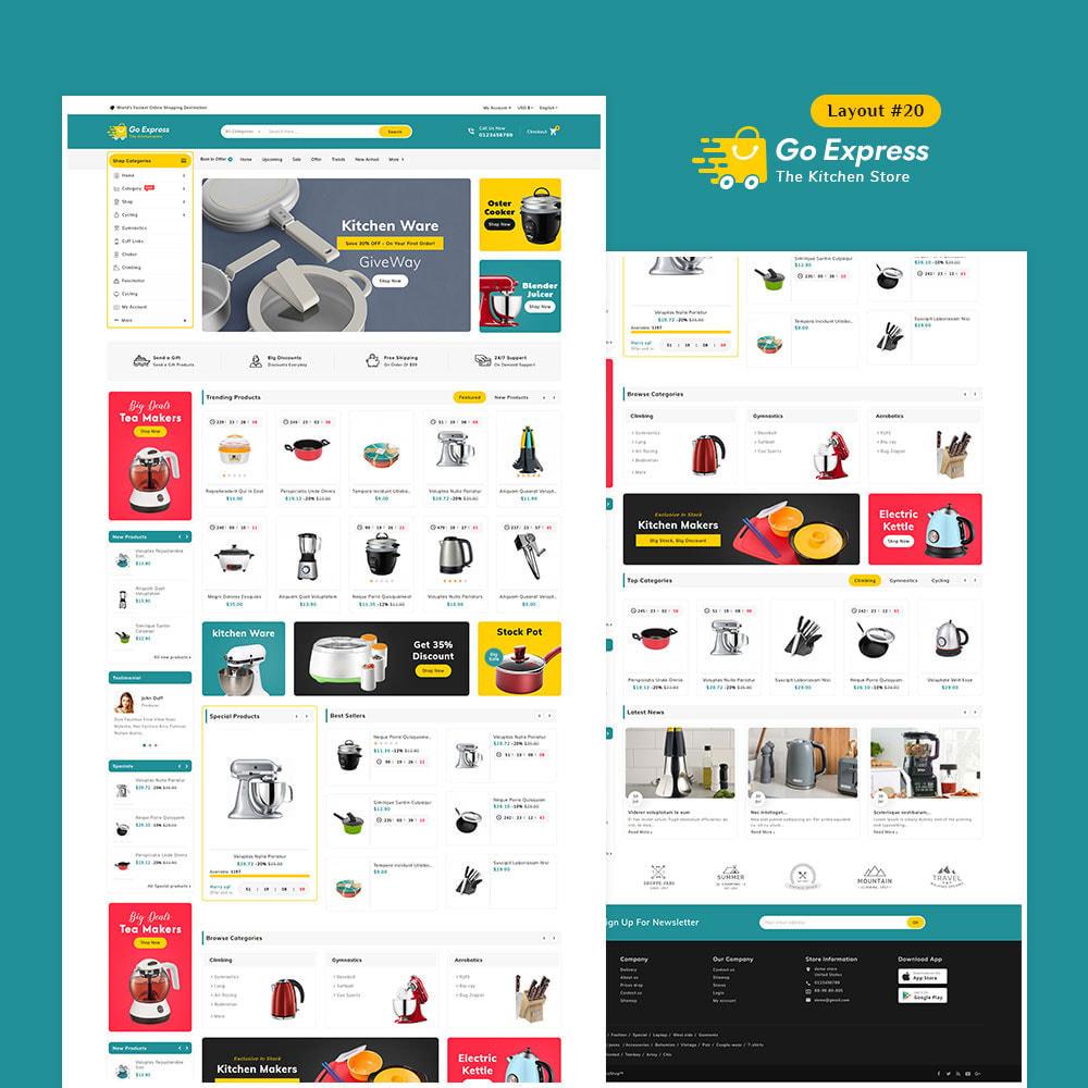 theme - Elektronika & High Tech - Go Express - Multi Purpose Mega Store - 21