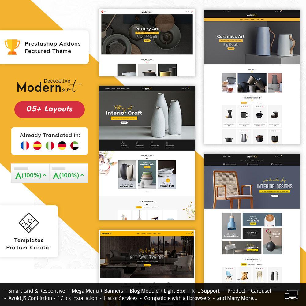theme - Casa & Jardins - Modern Art - Home Decoration - 1