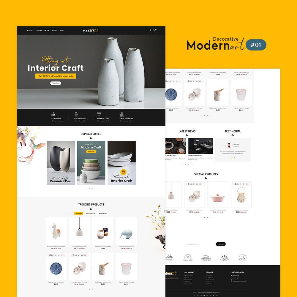 theme - Casa & Jardins - Modern Art - Home Decoration - 2