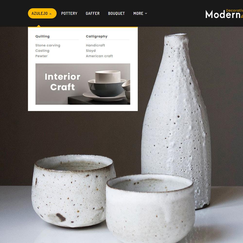 theme - Casa & Jardins - Modern Art - Home Decoration - 13