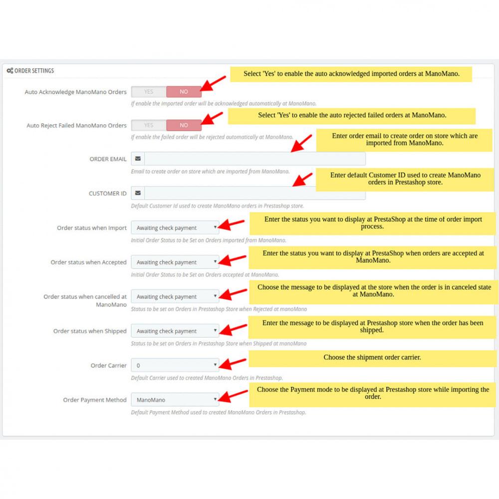 module - Marktplätze - ManoMano Integration - 4