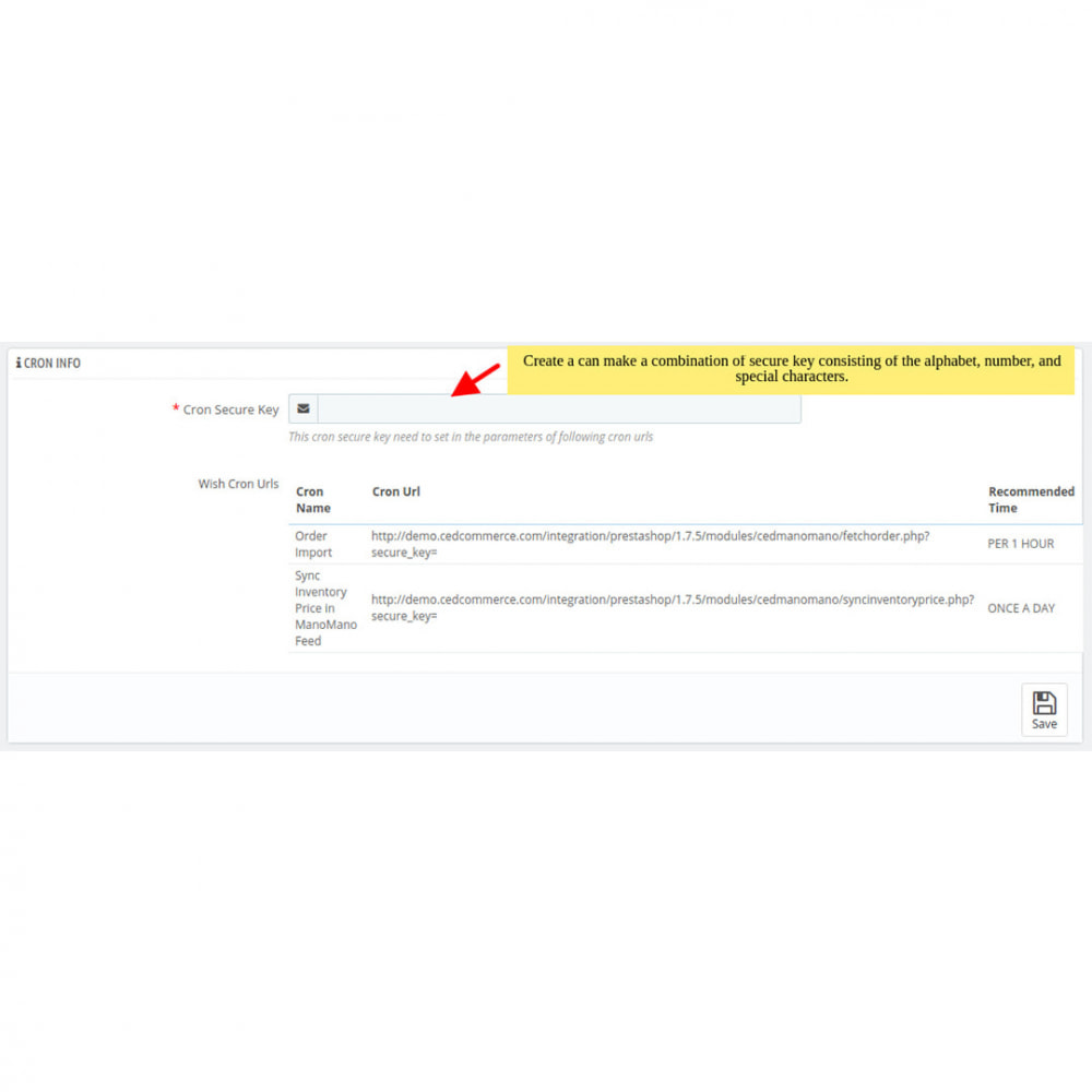 module - Торговая площадка - ManoMano Integration - 6
