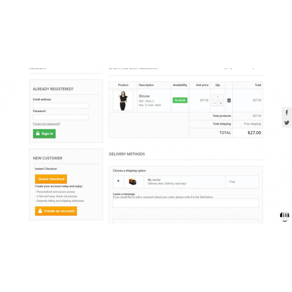 module - Proceso rápido de compra - One Page Checkout - Responsive - 3
