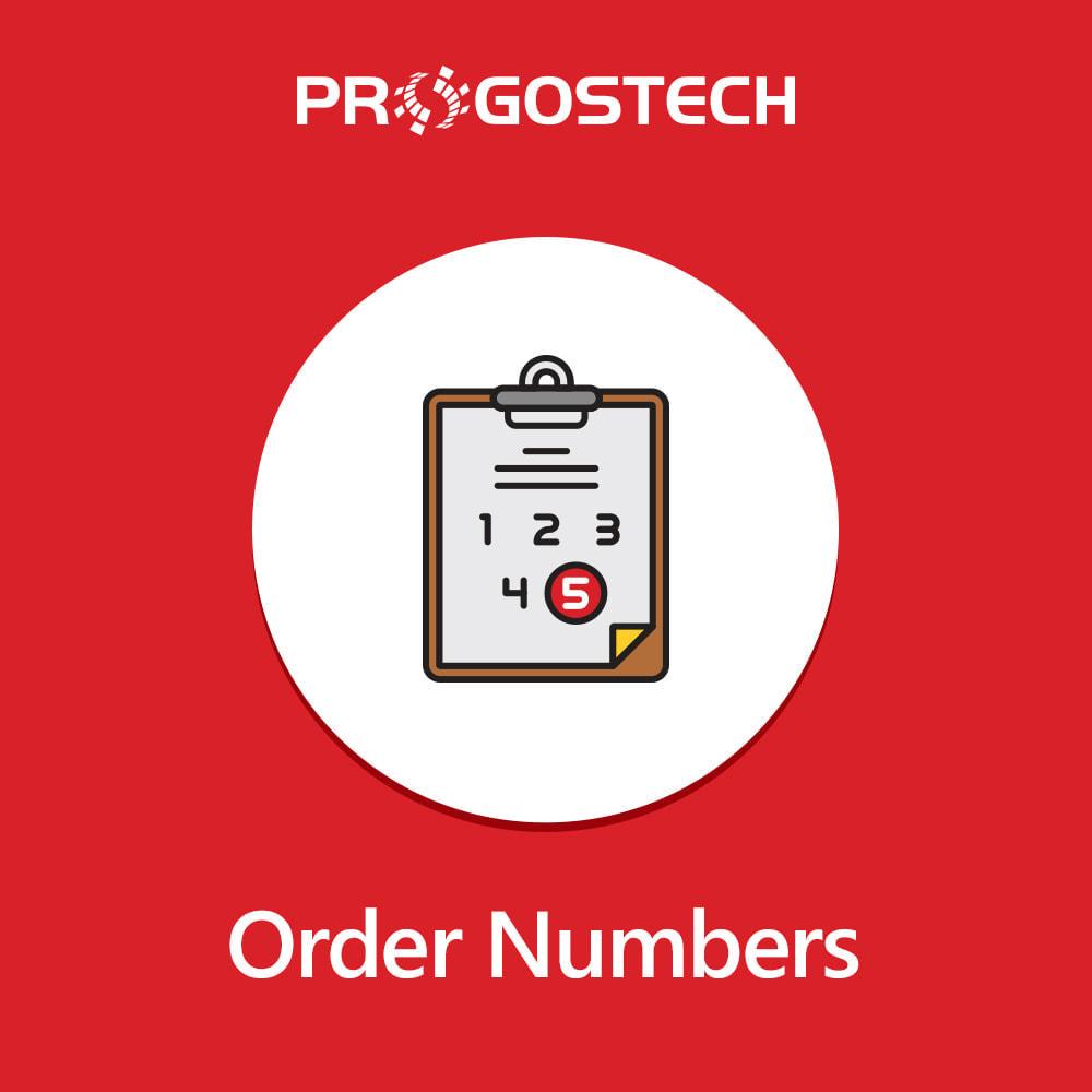 module - Contabilidad y Facturas - Custom Order Numbers - 1