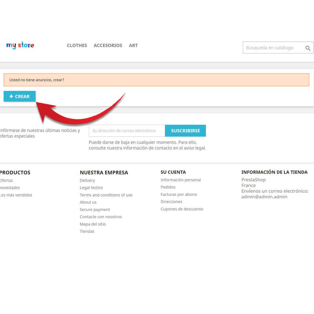 module - Creación de Marketplace - Tablón de anuncios para clientes - 3